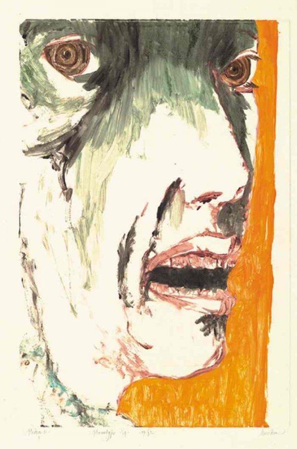 2082012: LEONARD BASKIN Medea I.