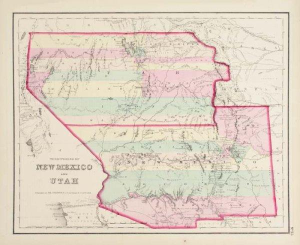 2083007: COLTON, J. H. Colton's General Atlas.