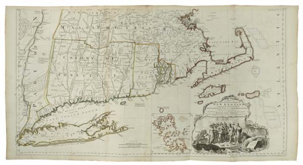2083023: JEFFERYS, THOMAS. The American Atlas: or, A Ge