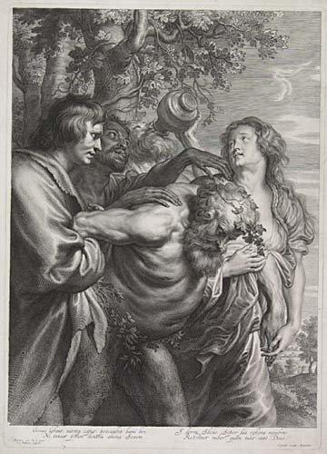 2084007: SCHELTE A. BOLSWERT The Triumph of Silenus. En