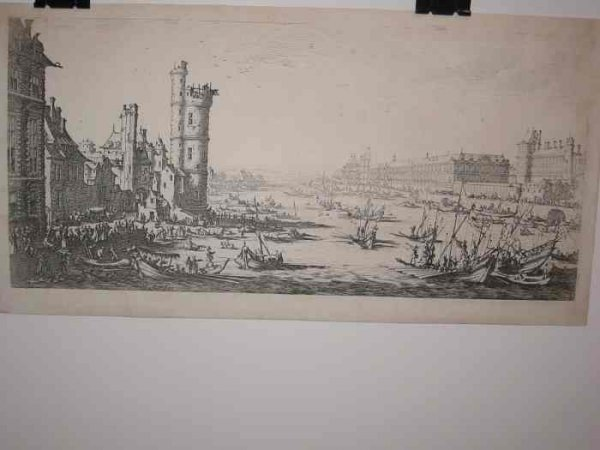 2084008: JACQUES CALLOT Two etchings