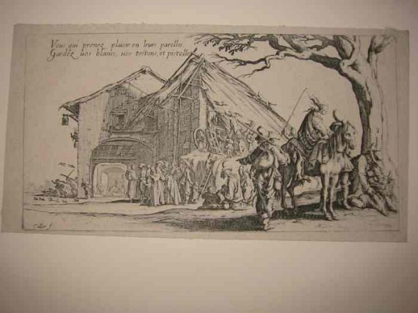 2084009: JACQUES CALLOT Group of 4 etchings
