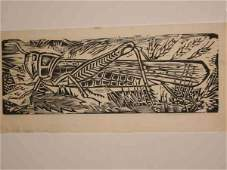 2084165 WERNER DREWES Two woodcuts