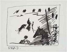 2084423: PABLO PICASSO Three lithographs