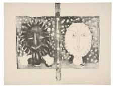 2084425: PABLO PICASSO Three lithographs
