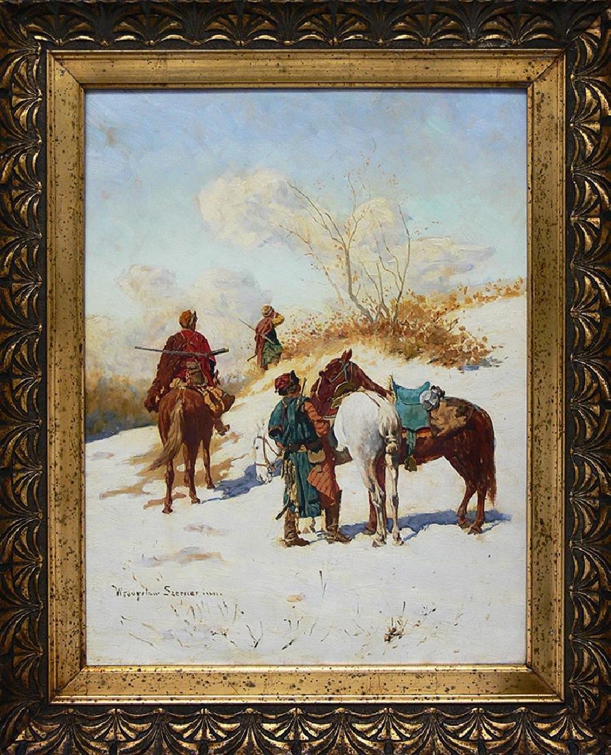 Wladyslaw Karol Szerner (1870 -1936), Cossack's Patrol