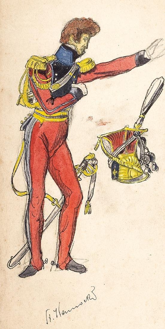 Stanislaw Kamocki (1875-1944), Sketch of a Horse Rider