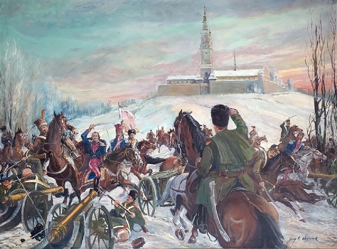 Jerzy R. Wozniak (20th c.), Pulaski at Czestochowa