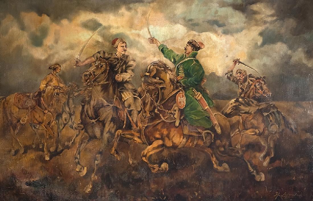 H. Leuttenbach (20th c.), Skirmish