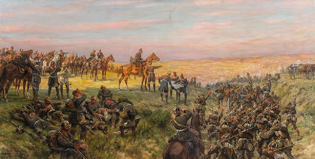 Hans Schmidt (1859-1950), Scene from German-French war