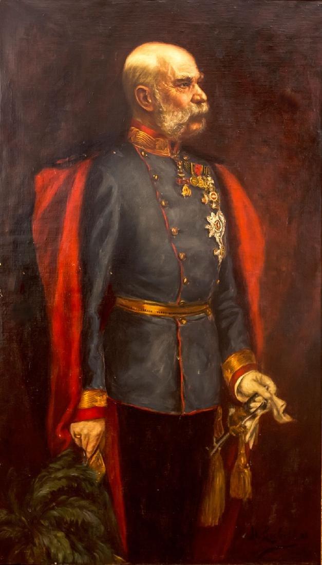 Mina Loebell (1877-1956), Emperor Franz Joseph, 1908