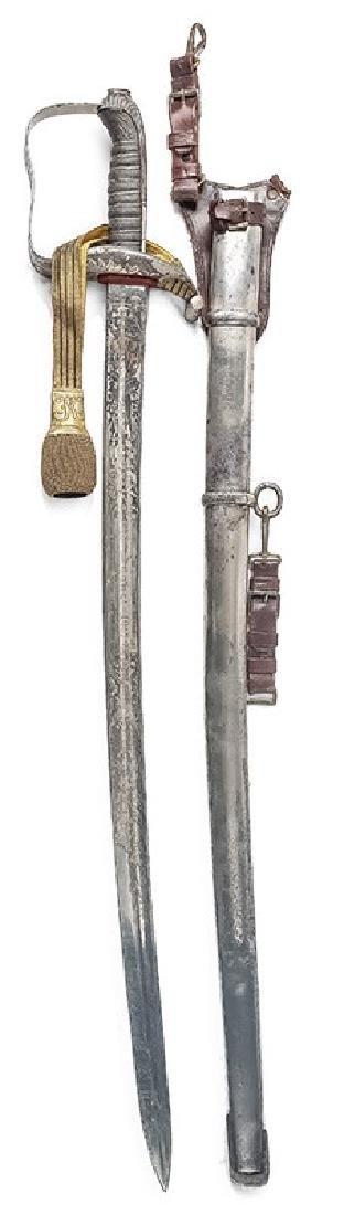 Austrian Infantry Officer's Sabre, 1861 Pattern