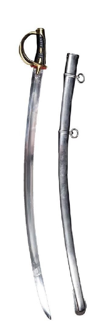 Replica of French Light Cavalry Sabre, AN XI Pattern