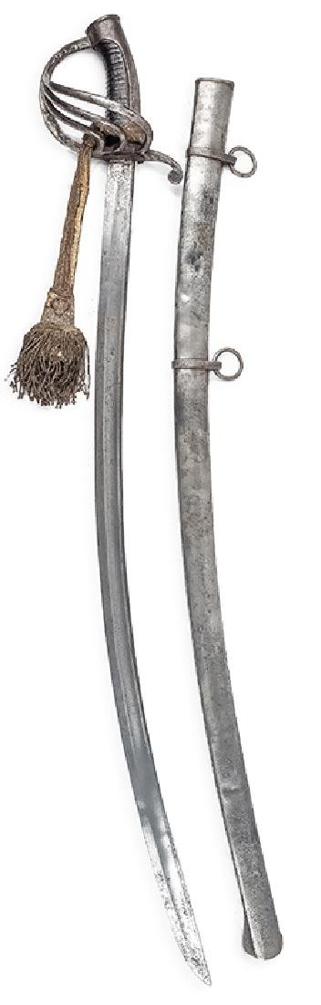 Polish Light Cavalry Officer's Sabre, 18th/19th c.