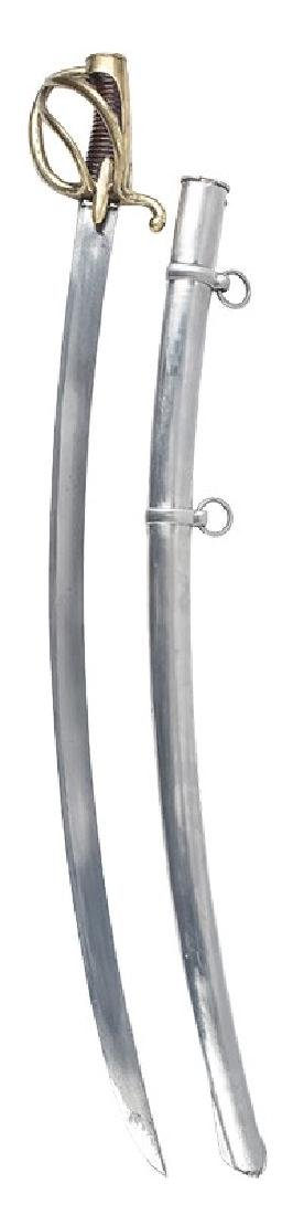 French Light Cavalry Sabre, ANXI Pattern