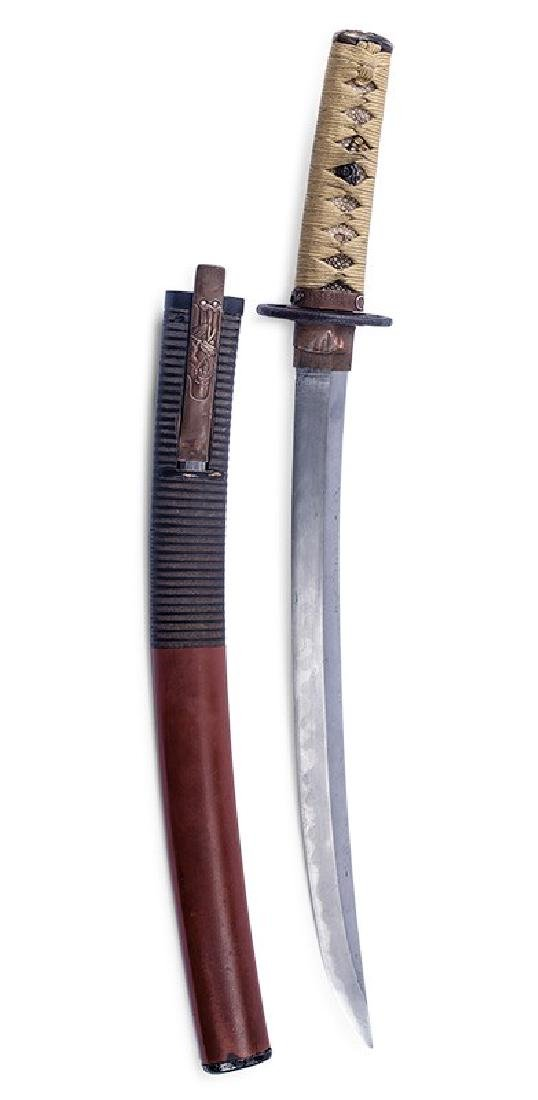 Japanese Sword O-Tanto, Shino period, 17th c.