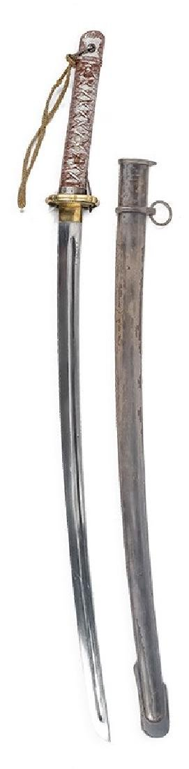 Japanese Officer's Sabre, before 1940