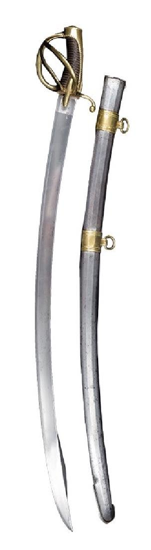 French Light Cavalry Non-commisioned Officer's Sabre,