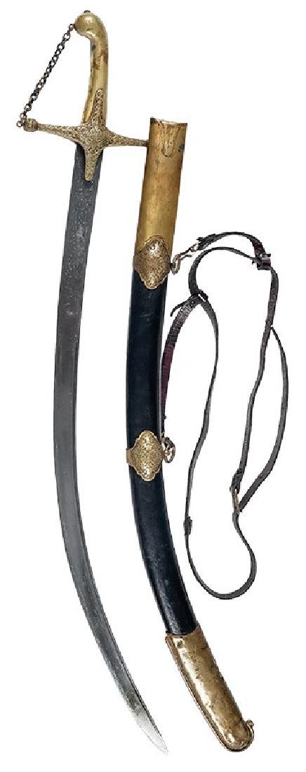 European Sabre in type of Turkish Kilij, 18th/19th c.