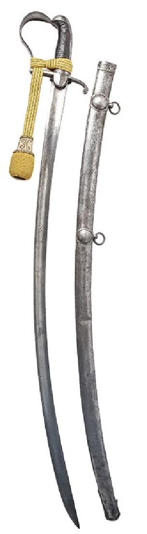Hungarian Infantry Officer's Sabre, 1837 Pattern