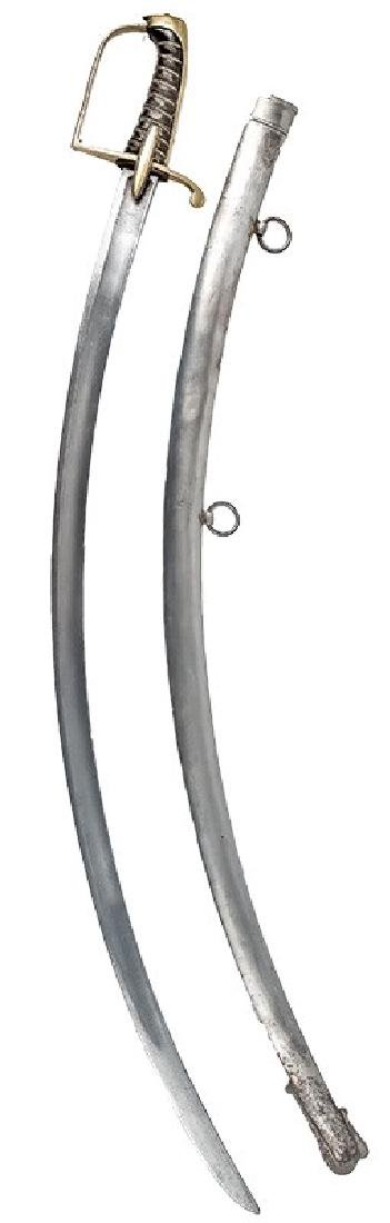 Swedish Cavalry Officer's Sabre, ca. 1800