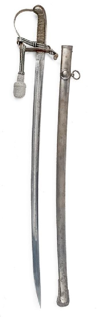 Prussian Infantry Officer's Sabre, 2nd half of 19th c.