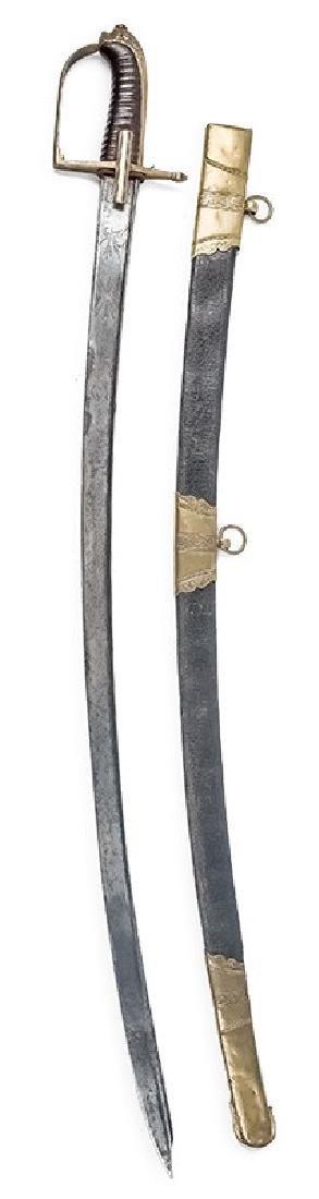 Saxon Cavalry Officer's Sabre, 18th/19th c.
