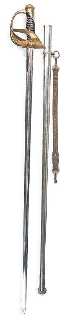 French Dragoon Officer's Epee, 1896 Pattern