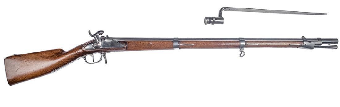 Rifle,  Belgium, Swiss Model 1817