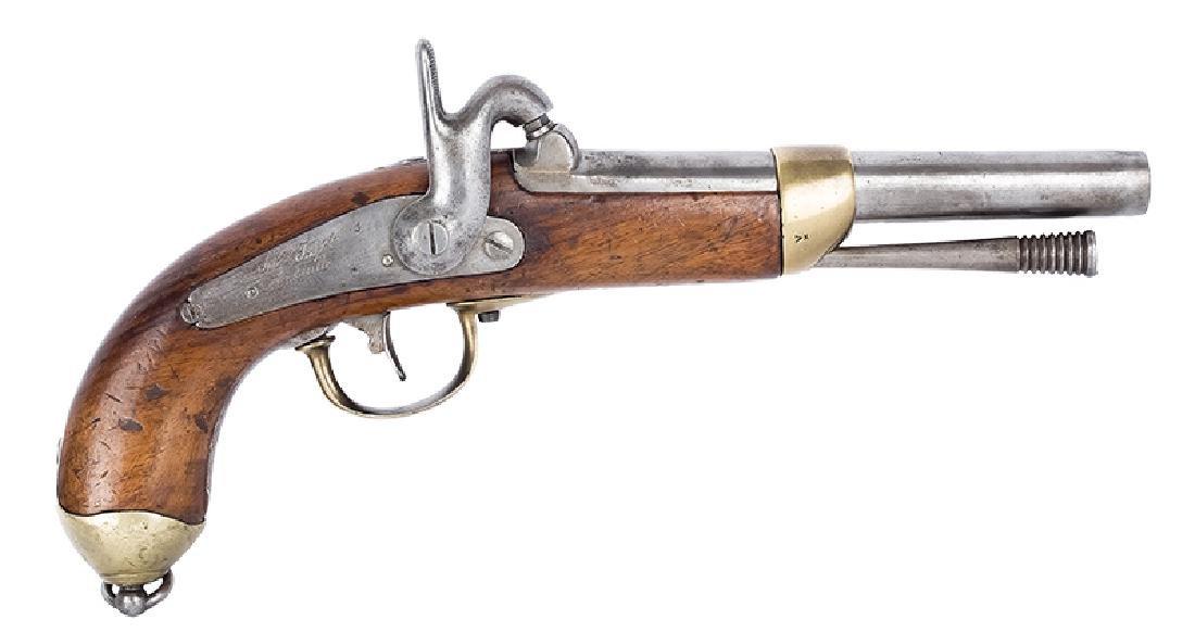 Cavalry Caplock Pistol, France, 1842 Pattern