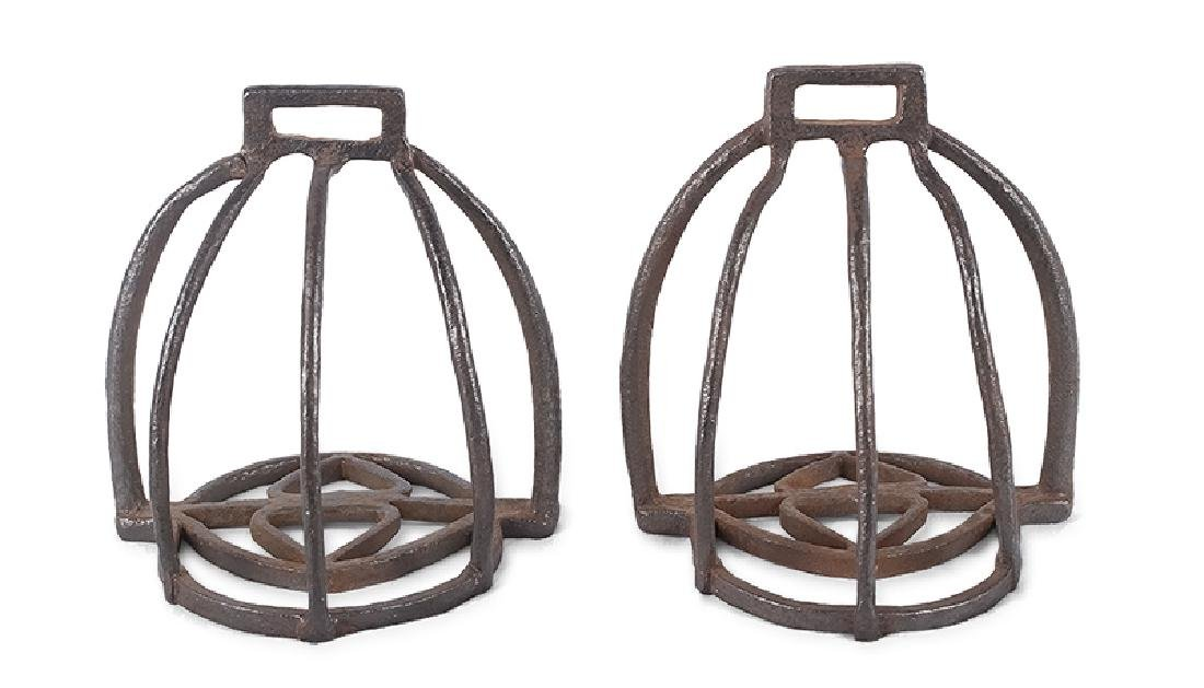 Pair of Cuirassier's Stirrups, France