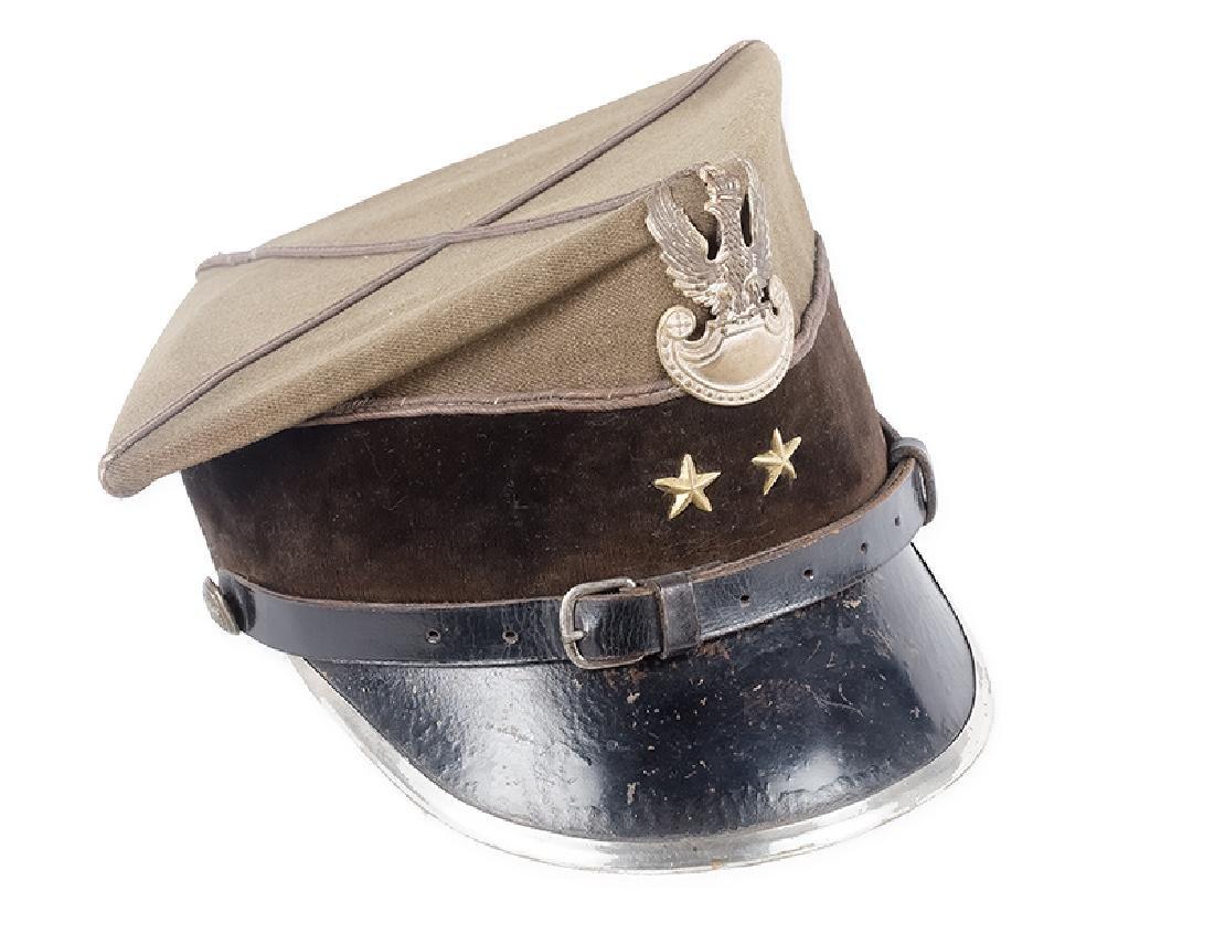 Rogatywka (Peaked Cap) of Sapper Lieutenant, 35 Pattern