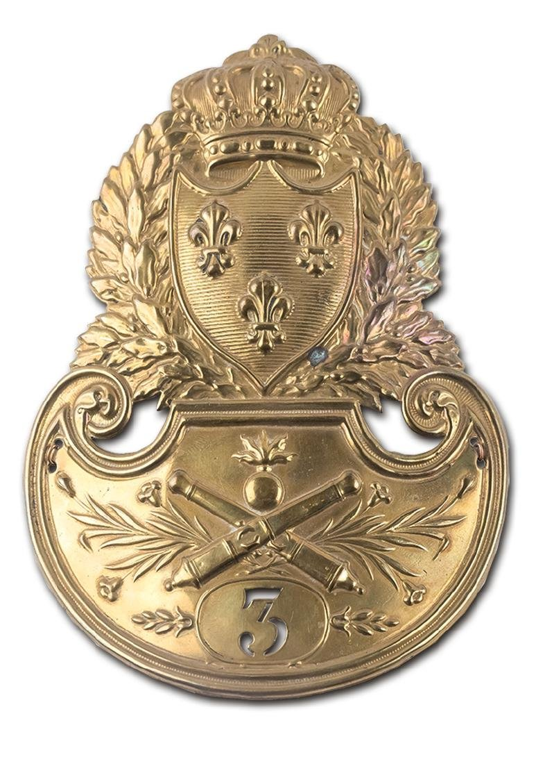 Cap Badge, France, ca. 1820
