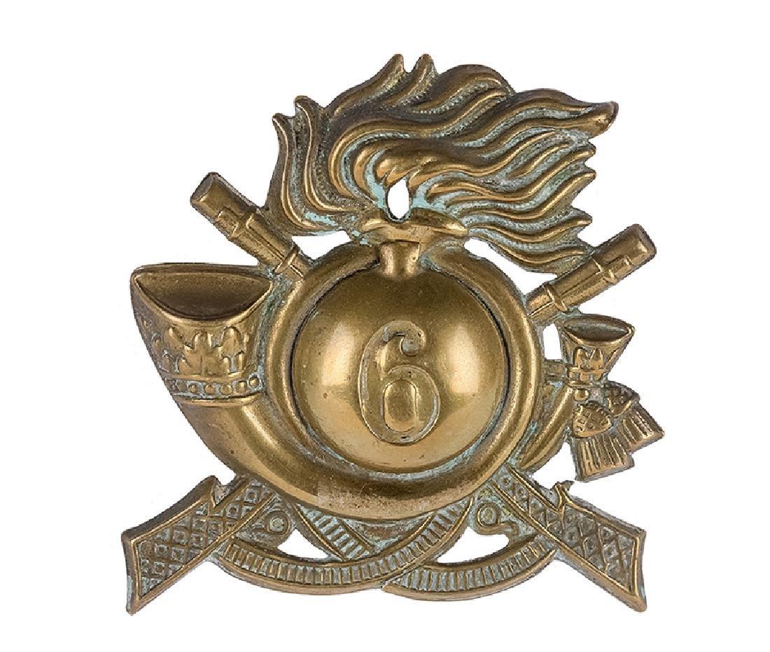Cap Badge, Italy, 19th/20th c.