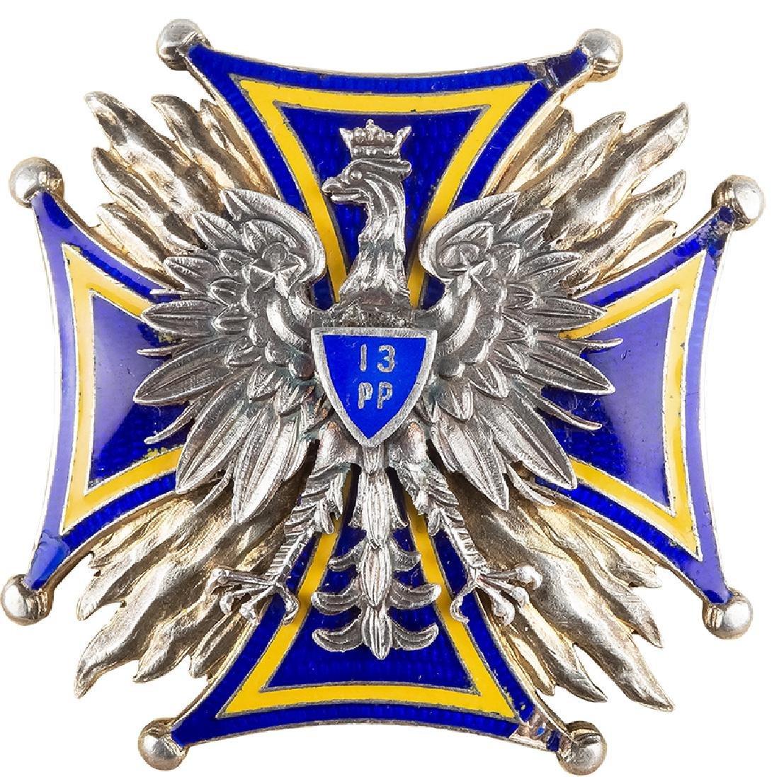13th Infantry Regiment Badge - Pultusk