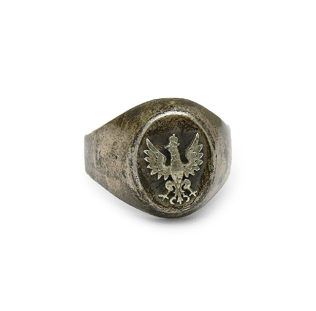 Signet ring, half of 20th c.
