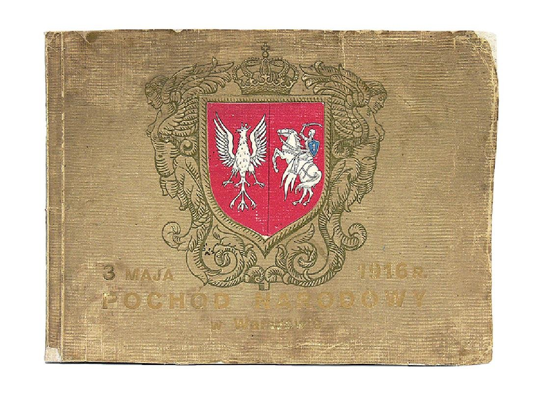 Souvenir from National Parade, 3 of May 1916