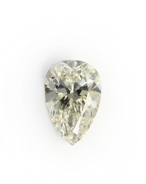 Pear Shaped Diamond, after 1920 ca. 2.00 ct