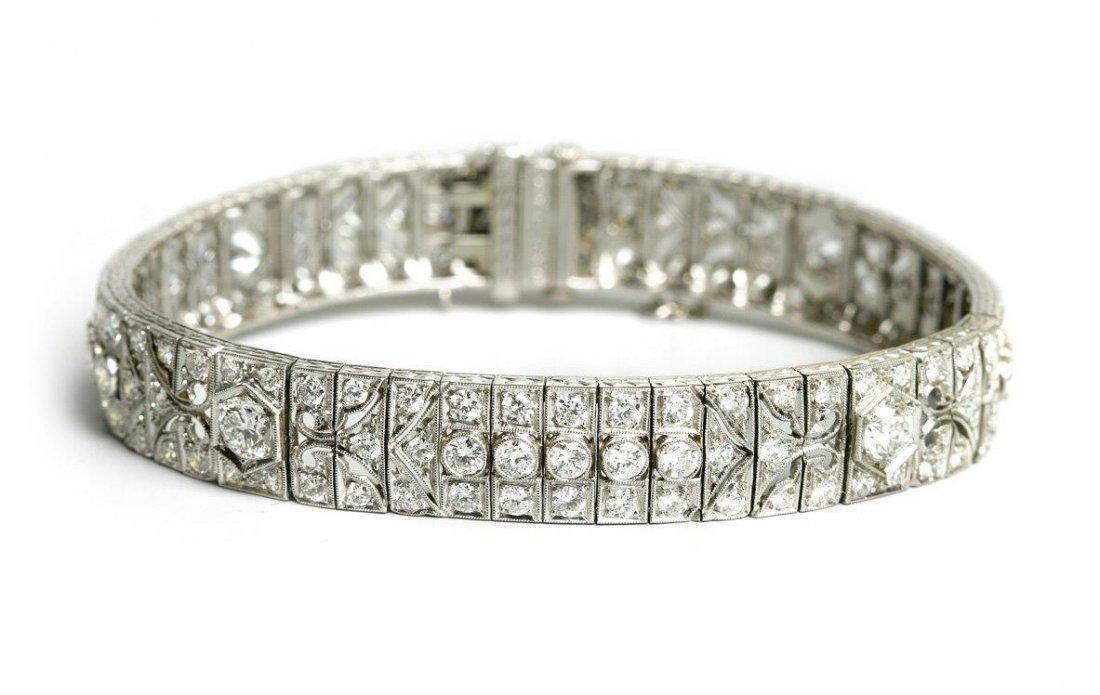Diamond Bracelet, 1940s–50s