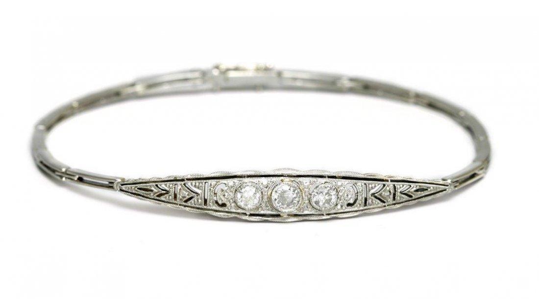 Art Deco Bracelet, 1920–30 14-karat gold (0.585),