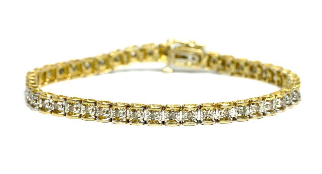 Bracelet, 2nd half of the 20th century gold ca. 0.400,