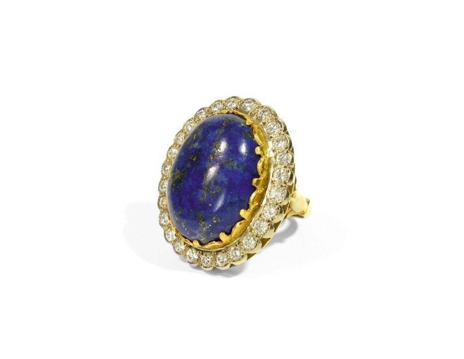 Ring, mid 20th century 18-karat gold (0.750)