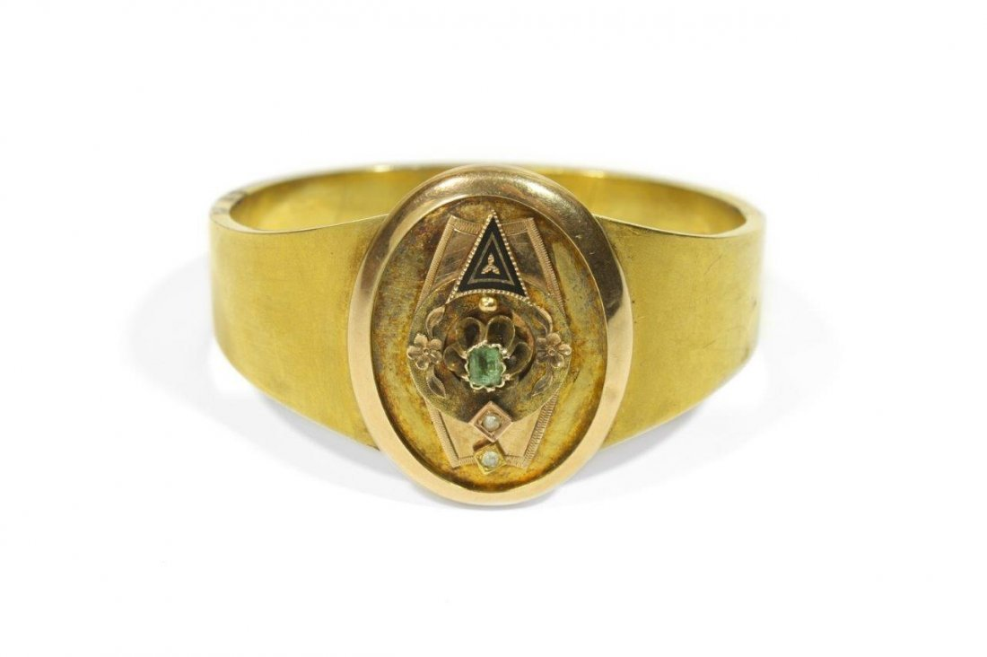 Bracelet, 2nd half of the 19th century 14-karat gold