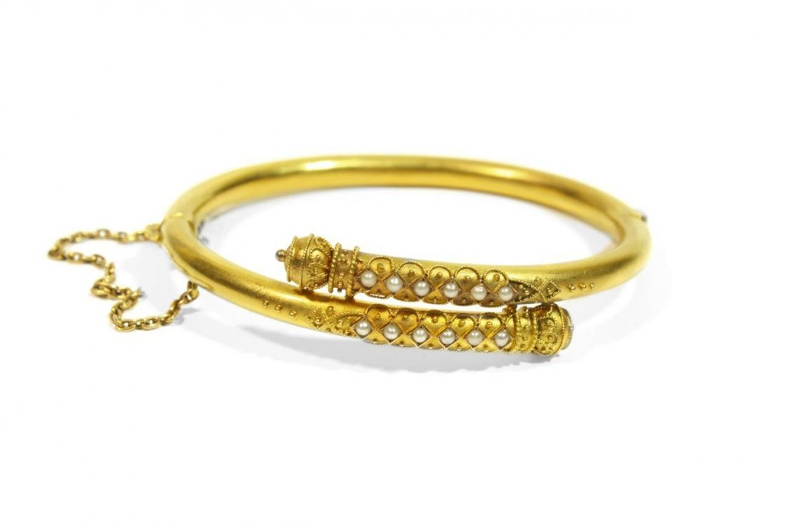 Bracelet, 2nd half of the 19th century 18-karat gold