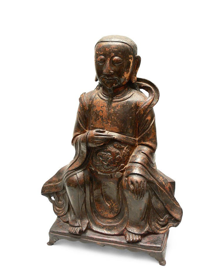 Statue of Dignitary, China, early Ming Dynasty