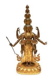 Statue of Eleven-Headed Avalokiteshvara, Sino-Tibet,