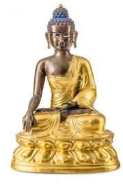 Shakyamuni Buddha, Tibeto-Chinese, late 18th c.