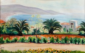Irena Known As Aneri Weiss, Landscape From The Southern