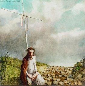 Jerzy Duda-gracz, Polish Landscape - Sorrowful, 1982