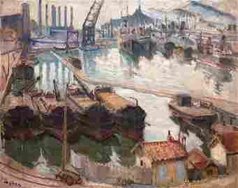 Mela Muter, Dawn in Marseille, c. 1927